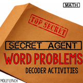 Secret Agent: Word Problems