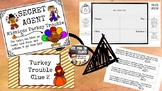 Secret Agent Word Problems Turkey Trouble single-step Multiplication & Division