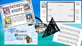 Secret Agent Word Problems Winter Mission Multi-Step Multiplication & Division