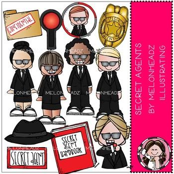 Secret Agent clip art - Melonheadz Clipart