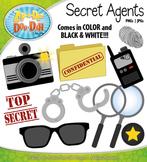 Secret Agents / Detectives Clipart {Zip-A-Dee-Doo-Dah Designs}