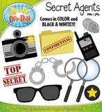 Secret Agents / Detectives Clipart {Zip-A-Dee-Doo-Dah Designs}