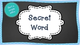 Secret CVC Word- Sample