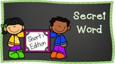Secret CVC Word Bundle