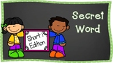 Secret CVC Word- Short i