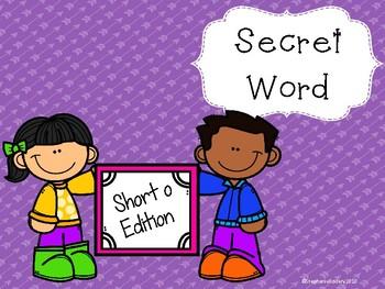 Secret CVC Word- Short o
