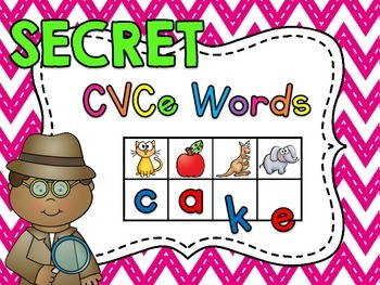 Secret CVCe Words