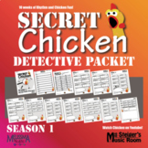 Secret Chicken: Season 1 Detective Packet: NOW WITH KEY