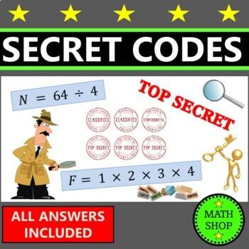 Secret Code Math