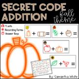 Secret Code Addition {Fall Theme}