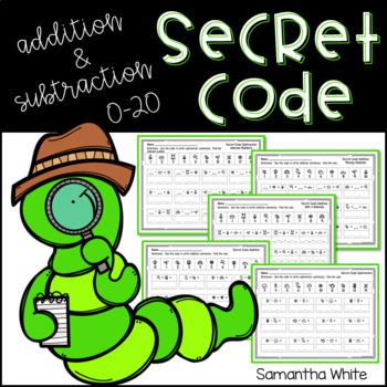 Secret Code Addition & Subtraction