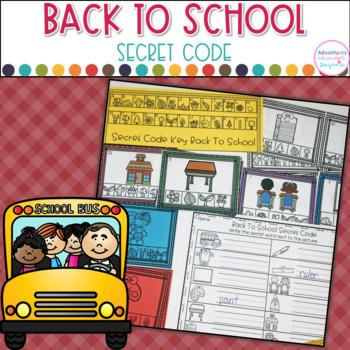 Secret Code- Back To School