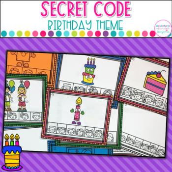 Secret Code Birthday Words