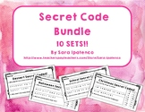 Secret Code Bundle: Reading and Spelling Practice