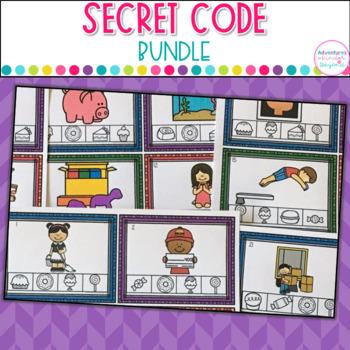 Word Work Secret Code Bundle