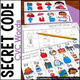 CVC Centers | Secret Code CVC Words