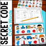 CVCe Centers | Secret Code CVCe Words