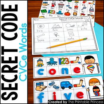 CVCe Centers | Secret Code CVCe Words