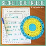 Secret Code Freebie!
