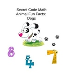 Secret Code Math - Dogs