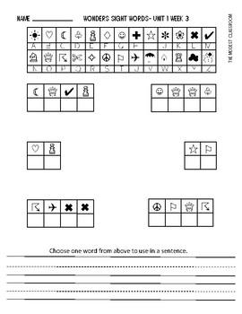 Secret Code Mystery Sight Words- 1st Grade