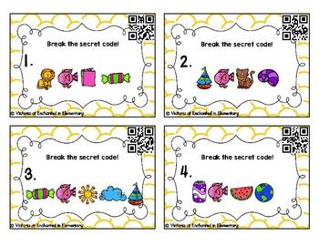 Secret Code Phonics Task Cards: Beginning Digraphs