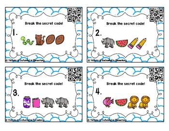 Secret Code Phonics Task Cards: Double Consonants