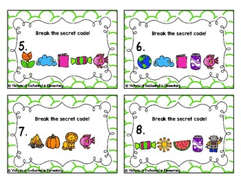 Secret Code Phonics Task Cards: Ending Digraphs