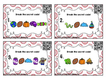 Secret Code Phonics Task Cards: L-Blends Set