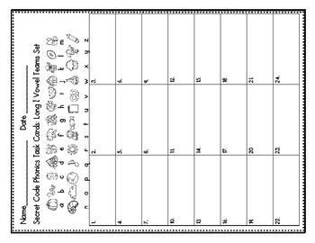 Secret Code Phonics Task Cards: Long I Vowel Teams Set