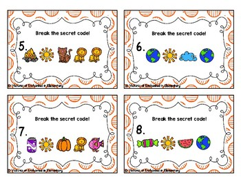 Secret Code Phonics Task Cards: R-Blends Set