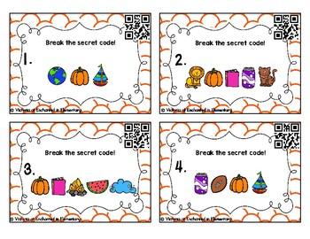 Secret Code Phonics Task Cards: aw and au