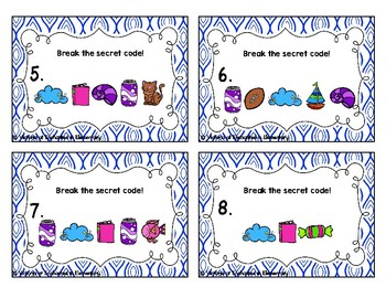 Secret Code Phonics Task Cards: ow and ou