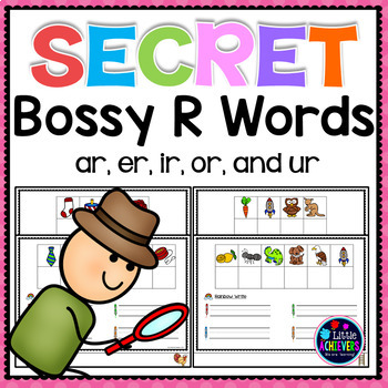 R-Controlled Vowel Activities | Secret Words Bossy R Centers