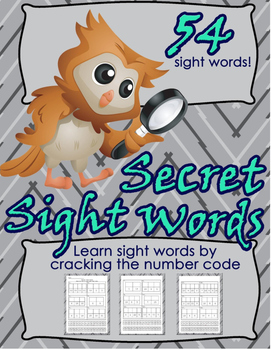 Scott Foresman Reading Street and F.A.S.T. Secret Code Sight Word Work