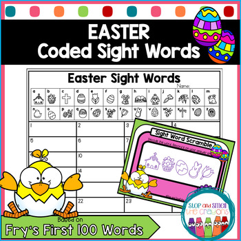 Secret Code Sight Words | Easter Activities