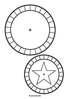 Christmas Secret Code Wheel - Blank Template | TpT