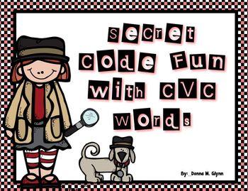 Secret Code With CVC Words