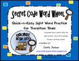 Secret Code Word Wheel-Quick & Easy Sight Word Practice Kit