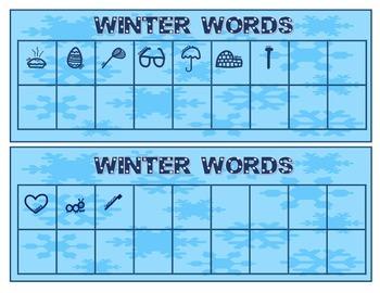 Secret Code Words: Winter