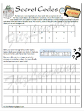 Secret Code Worksheet