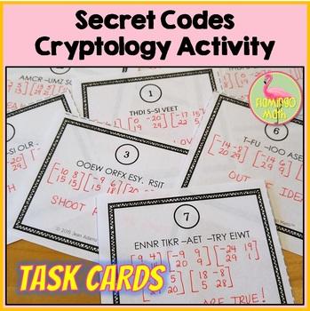 Secret Codes - A Cryptology Activity
