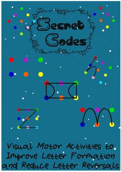 Secret Codes Visual Motor Activity for Handwriting Development