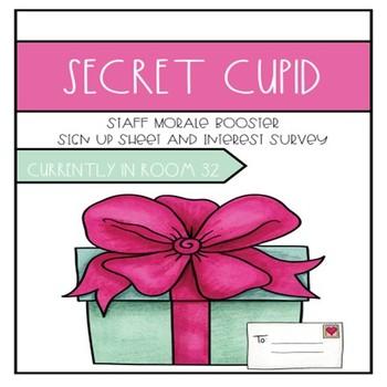 Secret Cupid-Staff Morale Booster