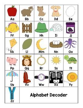 Secret Decoder Word Work Reading Street Grade 1 Unit 4 Week 1 Phonics Words