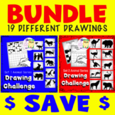 Directed Drawing Lesson 1 and 2 - Bundle  - Sub - Free Tim