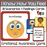 Perspective Taking and Knowing Feelings Game: 81 Feelings