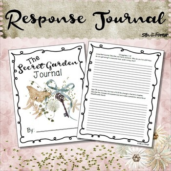 Secret Garden Novel Study Chpts 1 and 2 FREEBIE