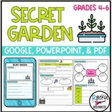 Secret Garden Unit Activities, Questions and Tests