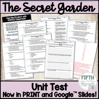 Secret Garden Unit Test